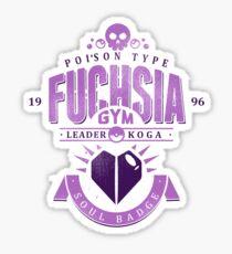 Fuchsia Gym Sticker
