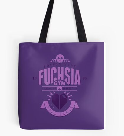 Fuchsia Gym Tote Bag