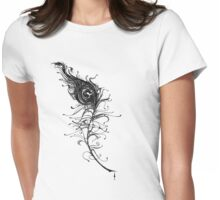 Eye of the Peacock Womens Fitted T-Shirt