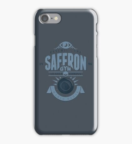 Saffron Gym iPhone Case/Skin