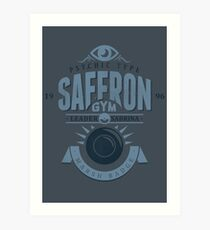 Saffron Gym Art Print