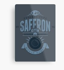 Saffron Gym Metal Print