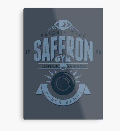 Saffron Gym Metal Print