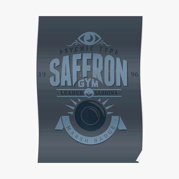 Saffron Gym Poster