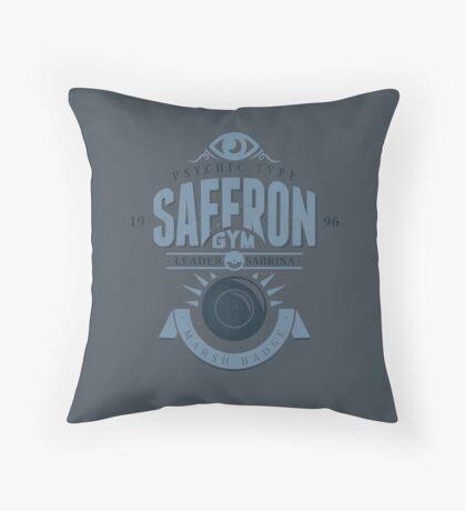 Saffron Gym Throw Pillow