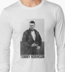 Tommy Robinson Long Sleeve T-Shirt