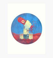 Octopus Wrangler Art Print