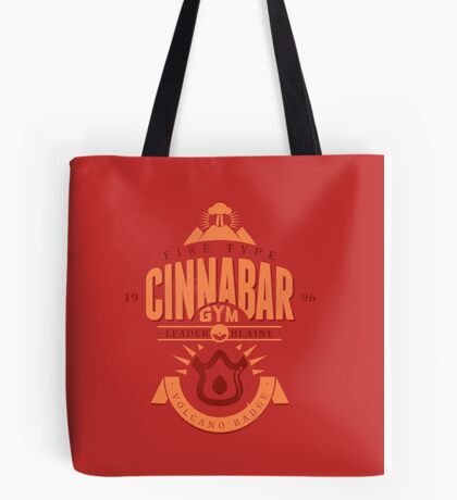 Cinnabar Gym Tote Bag