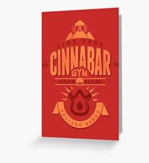 Cinnabar Gym Greeting Card