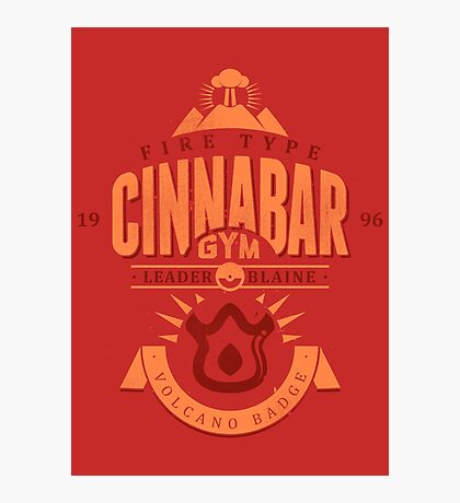 Cinnabar Gym Photographic Print