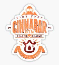 Cinnabar Gym Sticker