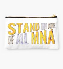 """""""Stand In Awe Of All Mna"""" Studio Pouch"""