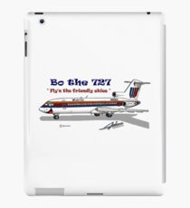 United Airlines Boeing 727 iPad Case/Skin
