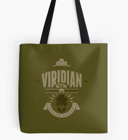 Viridian Gym Tote Bag