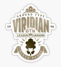 Viridian Gym Sticker