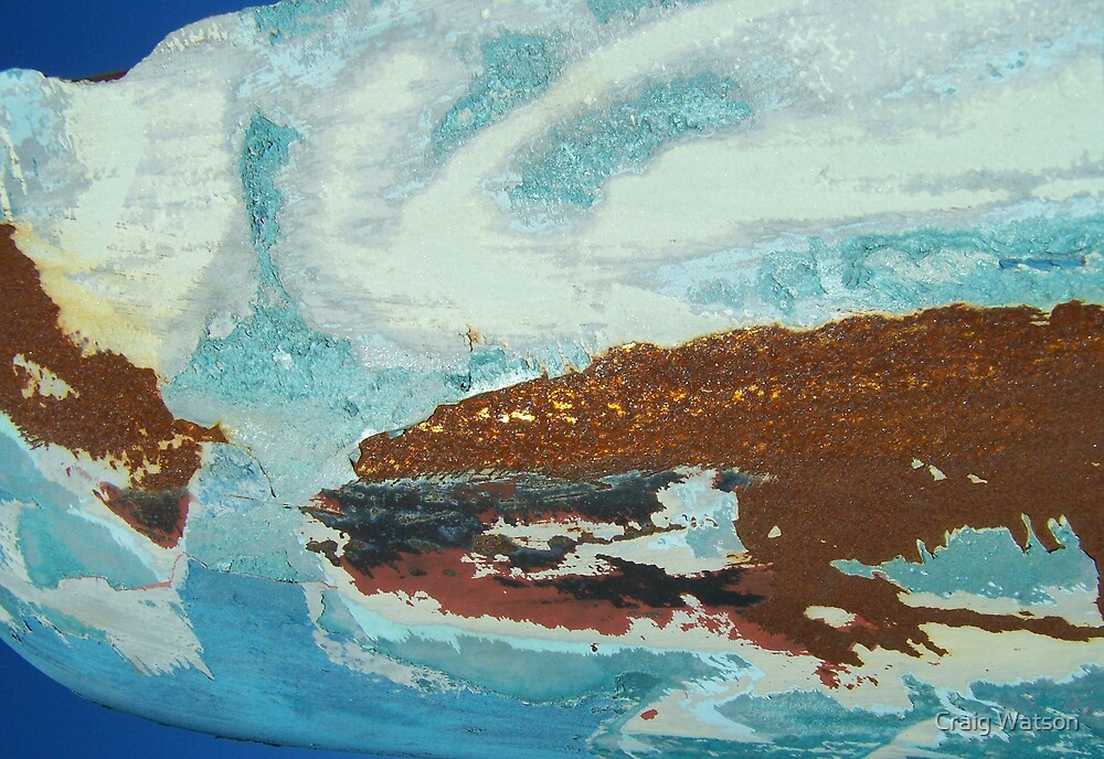 Rust on Light Blue by Craig Watson