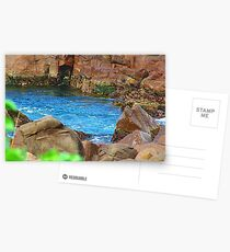 Birubi Beach Rocks Postcards