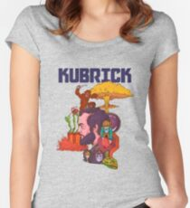 The Mind of Kubrick Women's Fitted Scoop T-Shirt
