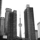 Toronto highrises by zumi