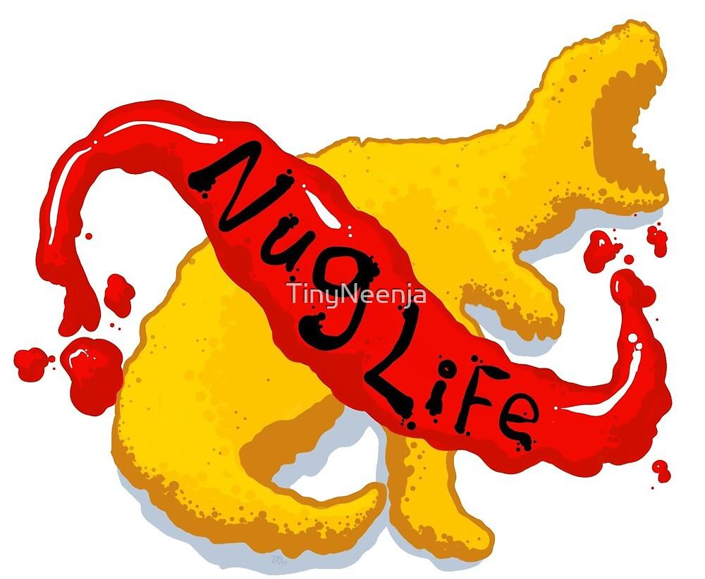 Nug Life w/ Nuggitsaurus-Rex! by TinyNeenja