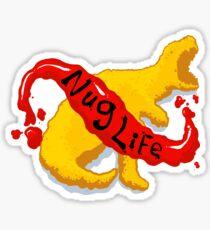 Nug Life w/ Nuggitsaurus-Rex! Sticker