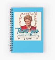 Jessica Fletcher Doesn't Need Your Input Spiral Notebook