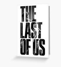The Last of us Logo Greeting Card