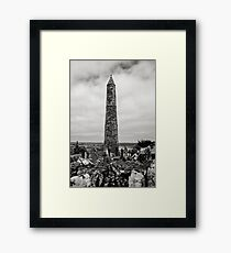 Ardmore Round Tower, County Waterford, Ireland Framed Print