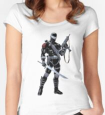 Snake Eyes Women's Fitted Scoop T-Shirt