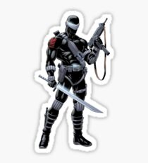 Snake Eyes Sticker