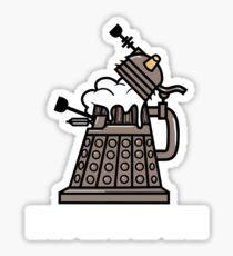Dalek Intoxicate Sticker