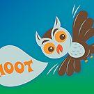 Owl Hoot by Lyuda