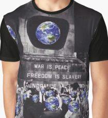 Globe Slave Square Graphic T-Shirt