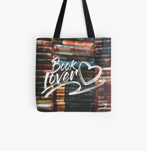 book lover All Over Print Tote Bag