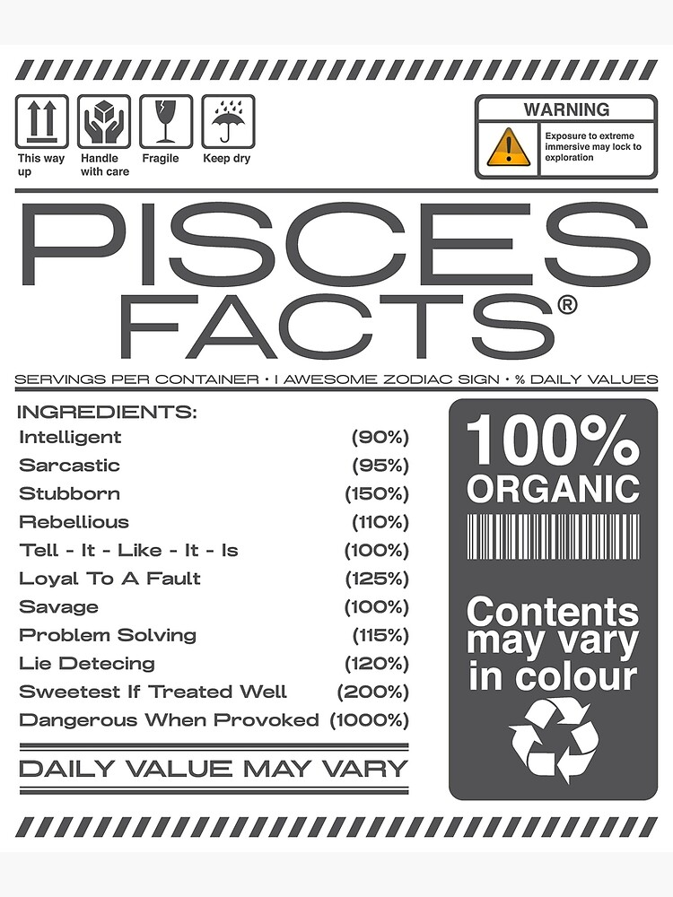 Pisces Symbol, Planet, Element, and Quality