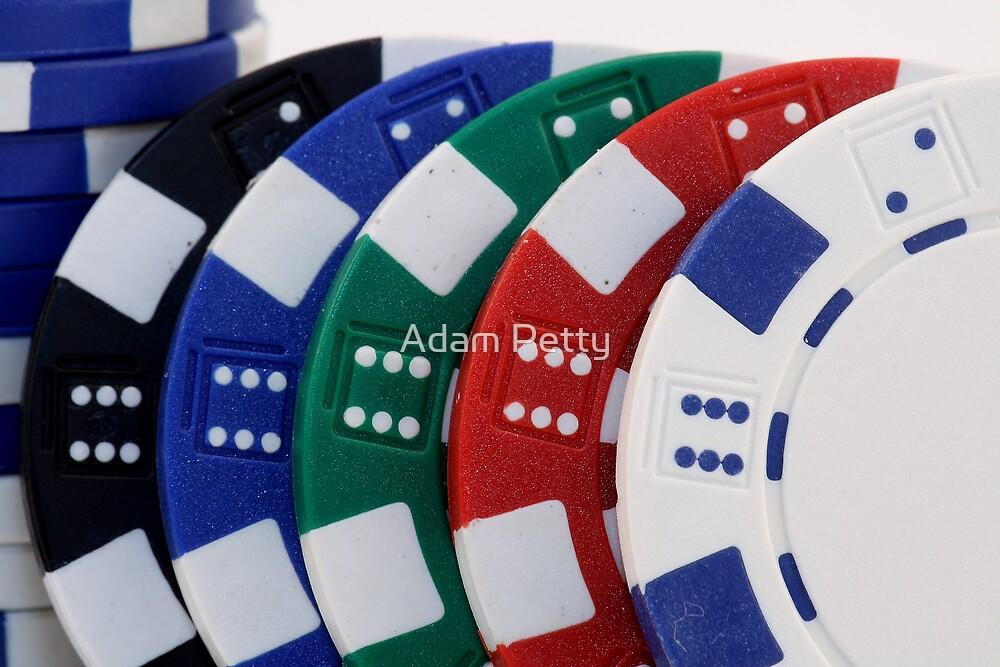 Poker Chips by Adam Petty