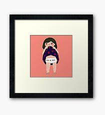 Babe Framed Print