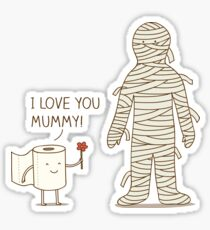 I love mummy! Sticker