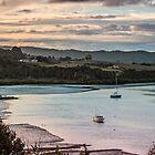 Twilight over Sandspit by Roger Neal
