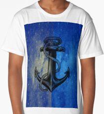 Blue Anchor  Long T-Shirt