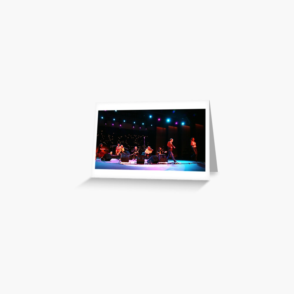 The Chieftains Live in Mallorca Greeting Card