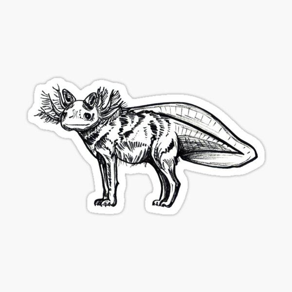 Axolote Sticker