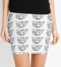 Clear mind Mini Skirt
