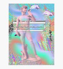"I put the ""hot"" in psychotic-  a e s t h e t i c - Photographic Print"