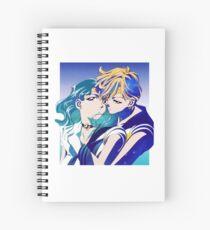 Haruka & Michiru Spiral Notebook