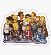 Simpsons Air Force-babe!  Sticker