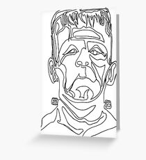 Frank - One Line Drawing Greeting Card