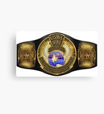 The Ultimate Championship Belt Canvas Print
