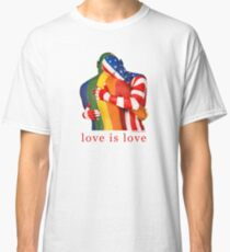 Love Is Love - Rainbow Pride Classic T-Shirt