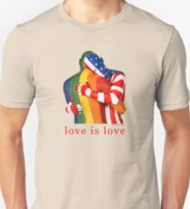 Love Is Love - Rainbow Pride T-Shirt